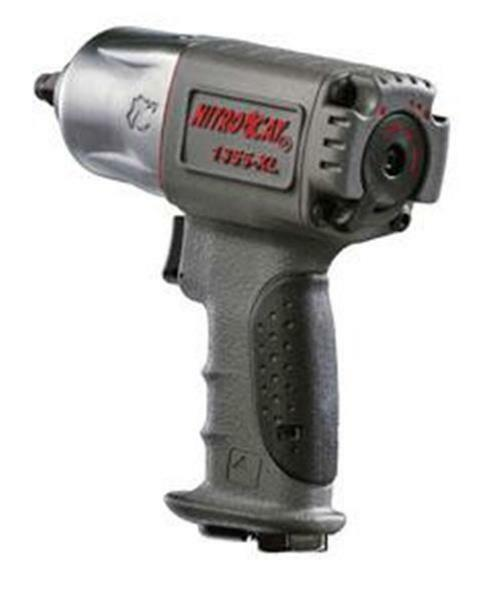 1355-XL mechanix_gear AirCat NITROCAT 3/8 Composite Xtreme Torque Twin Hammer Impact Wrench 1355-XL