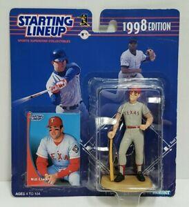 WILL CLARK Texas Rangers Kenner Starting Lineup MLB SLU 1998 Action Figure &Card