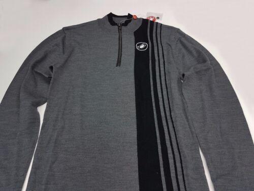 Castelli Winter Costante Men's Long Sleeve Cycling Wool Jersey Grey Size XL