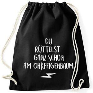 Witziger-Turnbeutel-mit-Spruch-Du-ruettelst-ganz-schoen-am-Ohrfeigenbaum