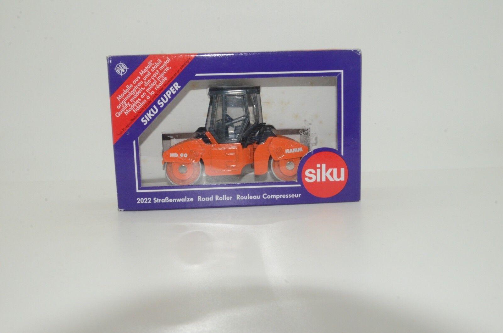 RARE      Strasenwalze Road Roller Rouleau Compresseur Siku 2022 1e671e