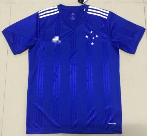 NEW 2020-2021 Cruzeiro Home//Away Soccer Jersey Short Sleeve Adult Men Shirt