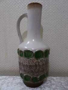 Fat Lava Strehla Keramik Design Vase - DDR - Vintage - um 1970 - 28,5 cm