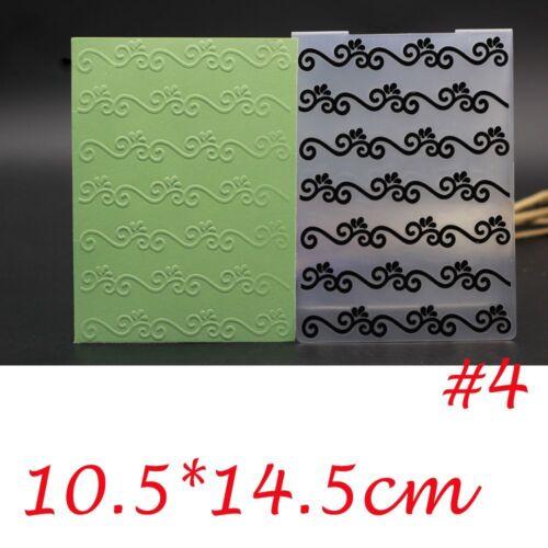 Basteln Mit Papier Scrapbooking Schablonenformen Embossing Stencils