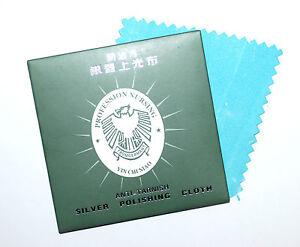 Zubehör 8x8cm Wir Haben Lob Von Kunden Gewonnen Rational Silberpflegetuch Silber-poliertuch Mit Reiniger Und Anlaufschutz Ca Tücher