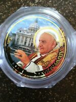 Rosary, Pope Giovanni XXIII and Pope John Paul II rose scented, new, from Rome!