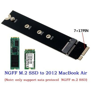 M.2 NGFF SSD to 18+8pin 26Pin SSD Adapter Card for MacBook Air 2012 A1465 A1466