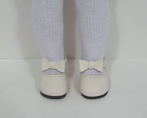 """BLACK Basic Doll Shoes For 14/"""" American Girl Wellie Wisher Wishers Debs"""