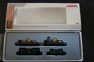 Marklin-spur-z-scale-gauge-034-High-Tension-Current-Train-034-Car-Set