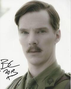 Benedict-Cumberbatch-signed-10x8-Image-B-photo-UACC-Registered-dealer