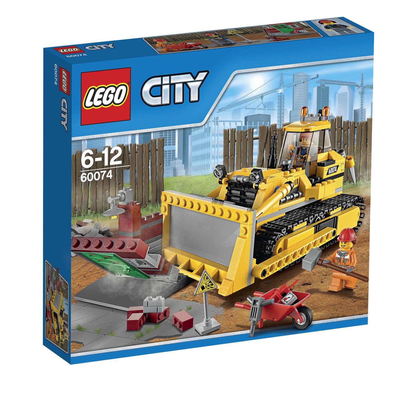 LEGO® City 60074 Bulldozer NEU OVP NEW MISB NRFB 66521 60073 60075