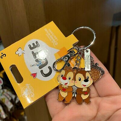 SHDR chip dale 2019 cute keychain Shanghai Disney Disneyland Park Exclusive