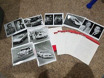 1986 Oldsmobile SEMA Press Kit Aerotech Calais Rick Wilson NASCAR