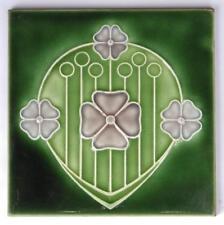 Antique Art Nouveau Tile by Marsden c1905 (1/2)