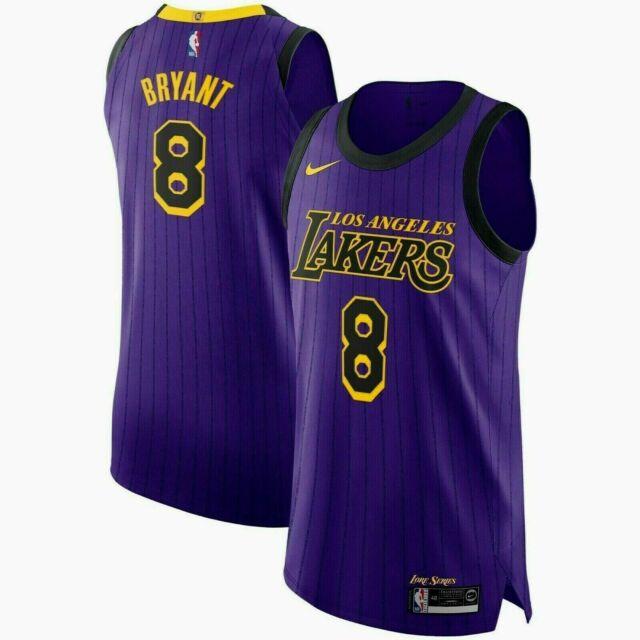 Nike Vaporknit #8 Kobe Bryant Av3696 504 Mamba Lore Lakers NBA ...