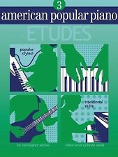 American Popular Piano : Level Three - Etudes by Scott McBride Smith