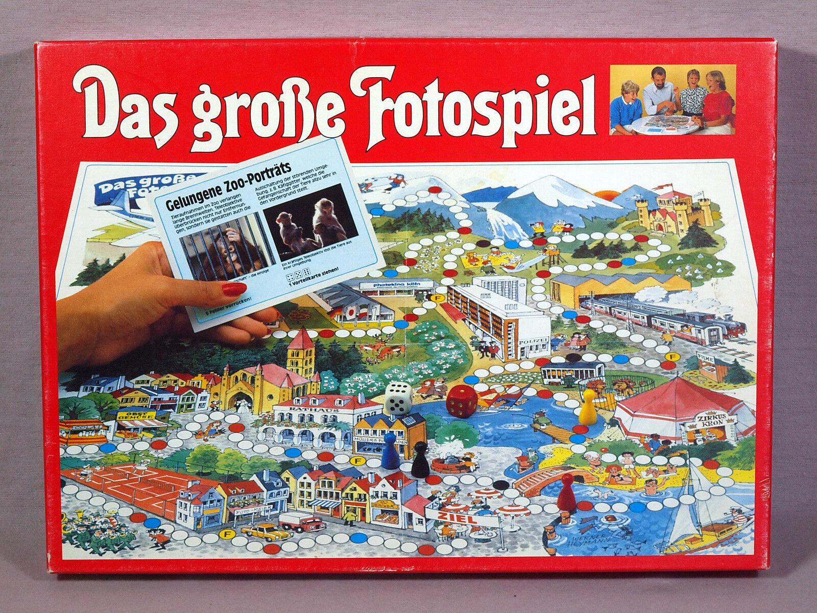El gran juego de fotografía para 2-6 jugadores a partir de 10j. - vwi Verlag de 1984 foto LÜK