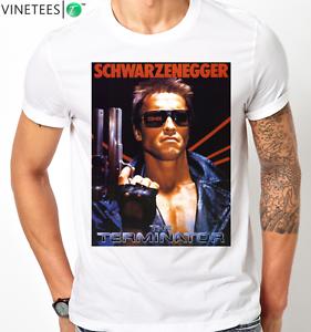 ARNOLD-SCHWARZENEGGER-TERMINATOR-MOVIE-COOL-T-Shirt-KIDS-MENS-Any-Size