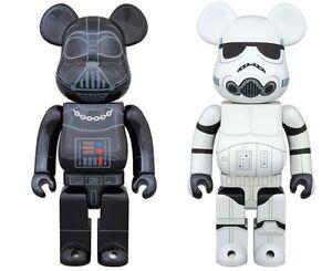 4700fa80 Image is loading Medicom-Toy-BE-RBRICK-Darth-Vader-amp-STORMTROOPER-