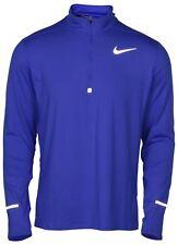 Nike Men/'s Size Large Dri Fit Element 1//2 Zip Running Top Shirt 904946 657 NWT