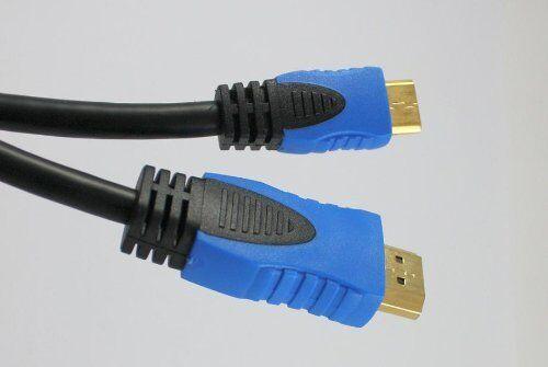 IBRA® 1M Mini HDMI to HDMI Premium Cable for Pansonic,Sony,Canon,Samsung-1Metre