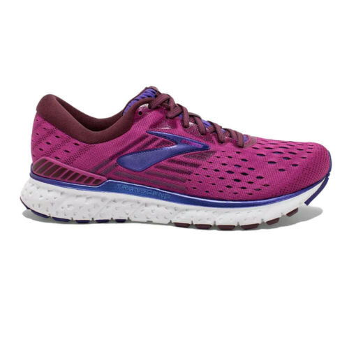 Brooks Womens Transcend 6 Running Shoes Trainers Sneakers Purple Sports