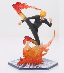 ONE-PIECE-figura-Sanji-Diable-Jambe-battle-ver-figuarts-PVC-sculture-18-cm
