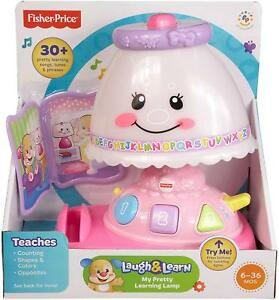 Fisher-Price-MY-PRETTY-LEARNING-LAMP-40-Songs-amp-Music-Pretend-Play-Fun-Baby-Toy