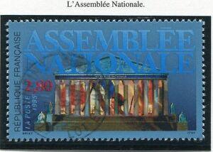 TIMBRE-FRANCE-OBLITERE-N-2945-ASSEMBLEE-NATIONALE-Photo-non-contractuelle