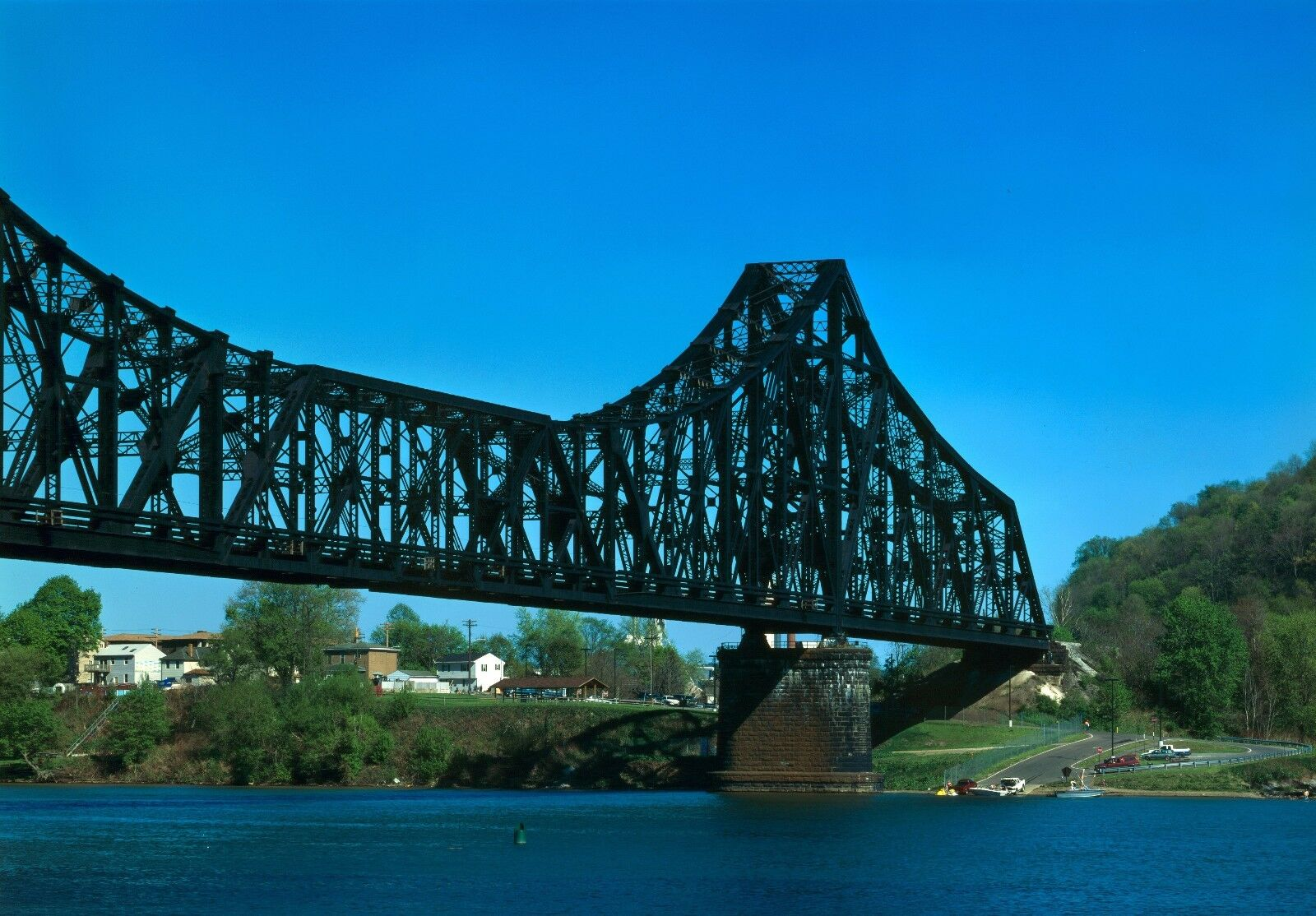 P&LE Bridge, Bridge, Bridge, Cantilever design, HO gauge L.E. Assembled with base NEW  Sale e5f0bd