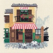Cafe Bistro Cross Stitch Kit - Riolis (R1217)