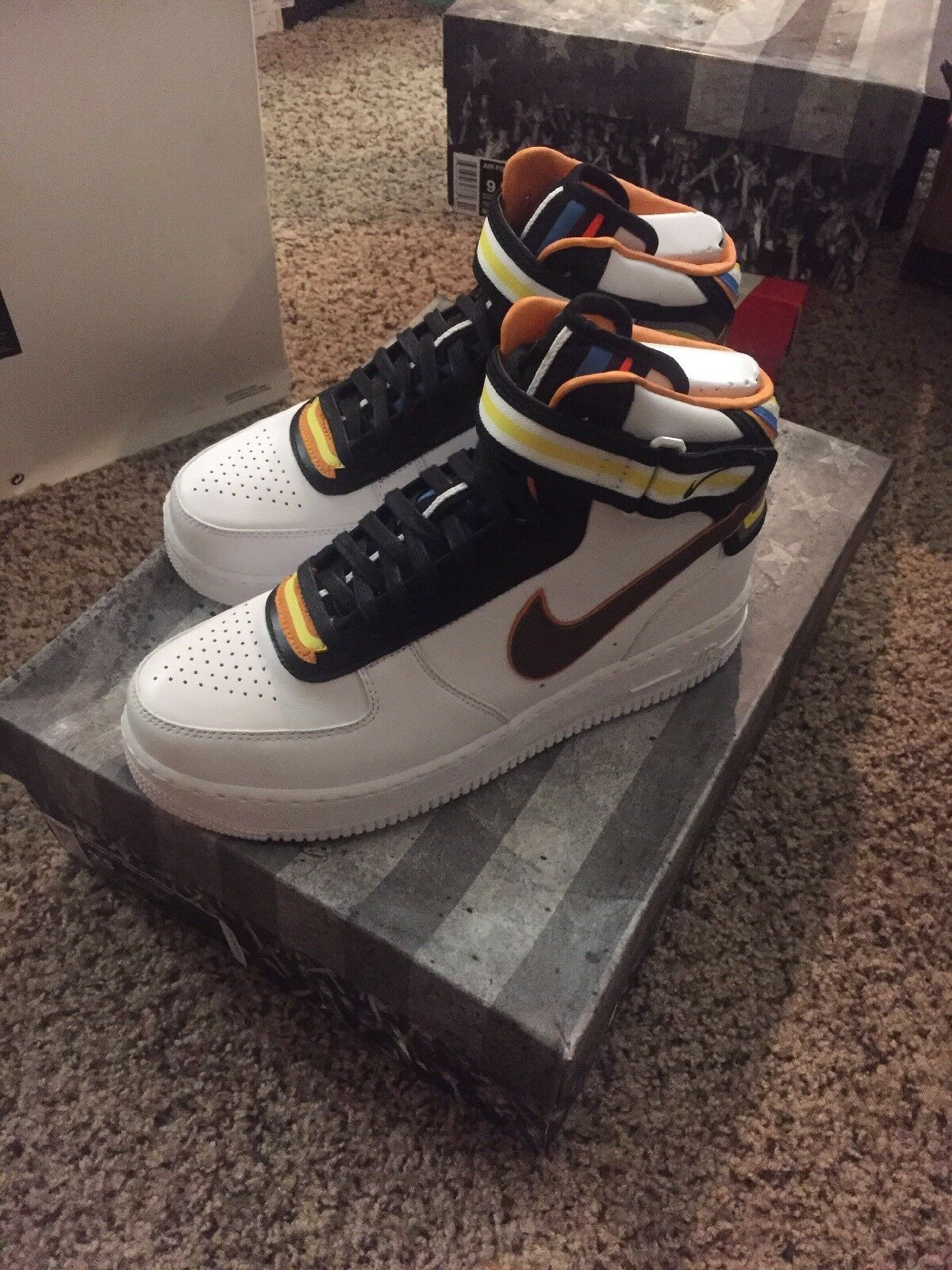 Nike Air Force 1 Mid Sp TISCI US9.5 677130-120