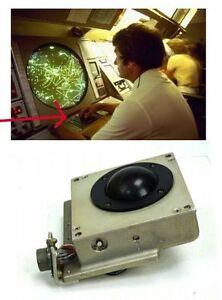 Vintage Military Orbit Instrument Trackball XY Ball Tracker - Orbit tracker