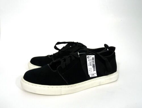 on Flat Bow Trainers Suede Slip New Uk 38 Tie Next Shoes Eu 5 Real Ribbon 0pxw8nY