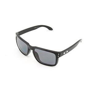 5d3aafe9edbdc Details about Oakley Men s Holbrook 9102-01 Sunglasses Matte Black Frame Warm  Grey Lens 55 mm