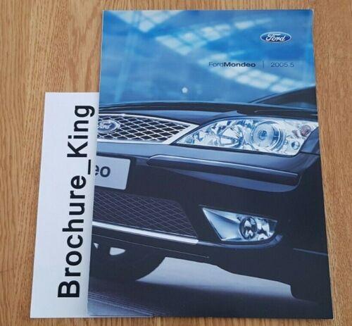Ford Mondeo 2005.5 mise à jour Intro spécification Brochure UK Market Inc ST220