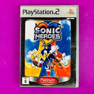 Sonic Heroes (Platinum) - PS2 PAL *Complete*