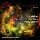 Sinfonien 3 & 4 von Lso,Valery Gergiev (2015)