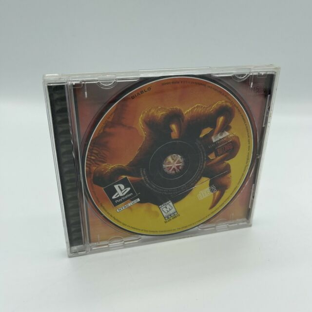 Diablo (Sony PlayStation) Rare PS1 Game Disc and Case No Manual
