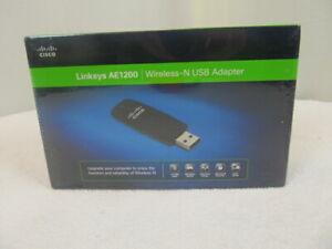 AE1200NP NEW Linksys AE1200 Wireless-N USB Wireless Adapter