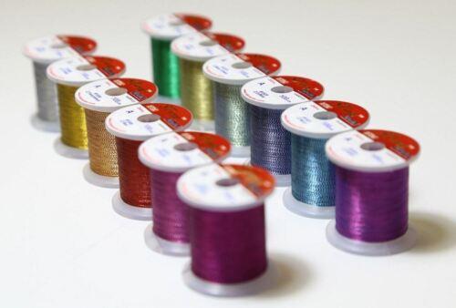 stwrap Rod emballage Thread-Metallic Zebra 12 Color Pack Hitena