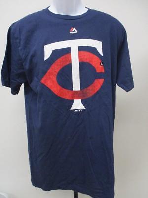 Konstruktiv Neu Minnesota Twins Herren GrÖssen S/m/l/xl Blau Majestic Shirt Uvp Baseball & Softball