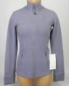 NEW-LULULEMON-Define-Jacket-4-10-Iron-Purple-NWT-FREE-SHIP