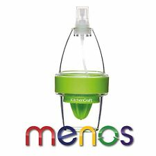 Kitchen Craft Healthy Eating Citrus Spritzer - Lemon Press Juicer Spray Bottle