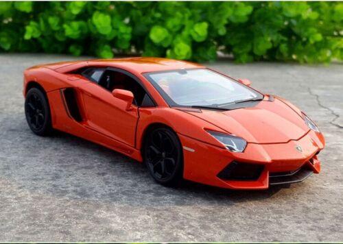 MZ 1:24 Lamborghini Aventador LP700-4 Static Alloy Car Model Boys Toys