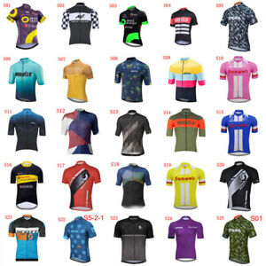 2020-Cycling-Jersey-Mens-Quick-Dry-Short-Sleeve-Shirt-Bike-Tops-Bicycle-Clothing