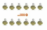 Mercedes 500sl W140 Set Of 12 Osram Sylvania 12v - 1.5w Bulbs 910141 000000