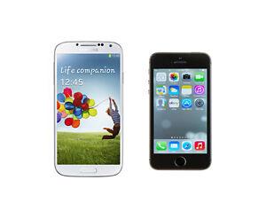 Samsung Galaxy S4 vs. iPhone 5S