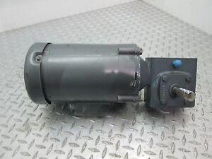 Baldor motor kl3403 1 4 hp 1725 rpm w boston gearbox for 1 4 hp 1725 rpm motor