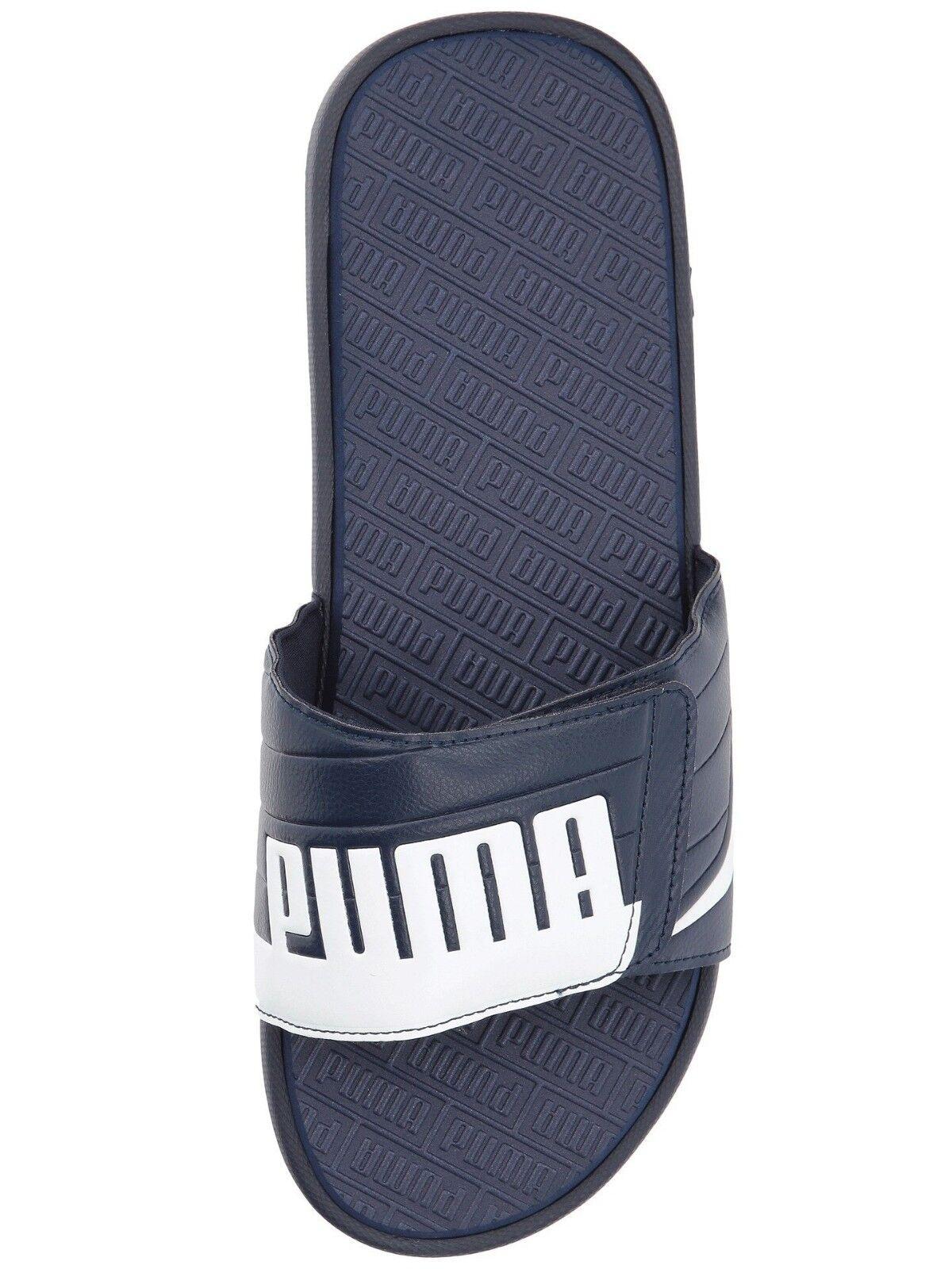 PUMA Men's Slip On Sport Slide Sandals Adjustable flip flops Slippers shoes